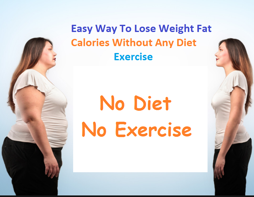 Lose Weight Without Any Diet Exercise