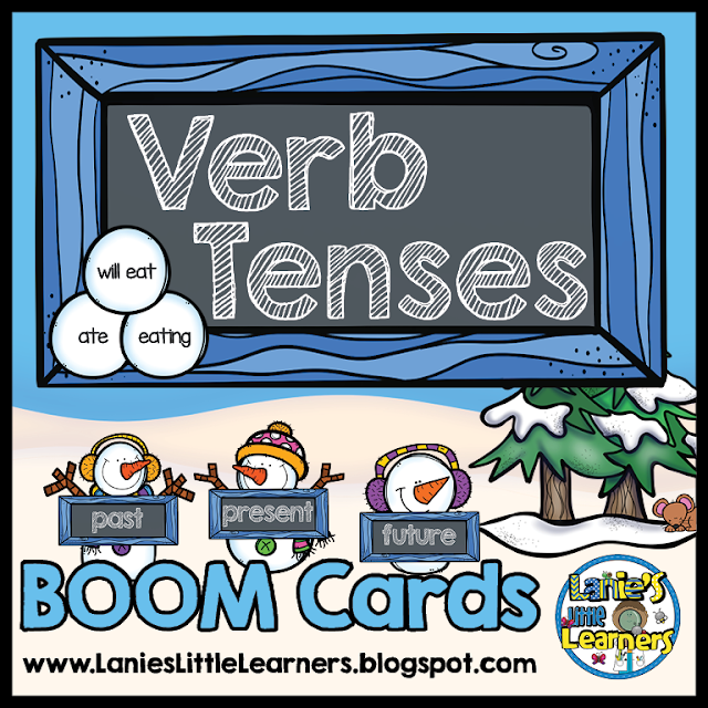 Verb Tenses (BOOM Task Cards)