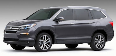 Honda Pilot 2018 Reviews, Specs, Price