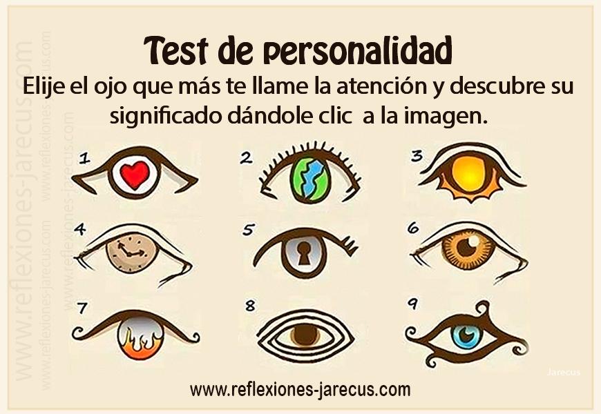 Reflexiones de Vida, Test de personalidad