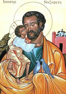 Imagem de São José com o Menino Jesus, ícone, #1