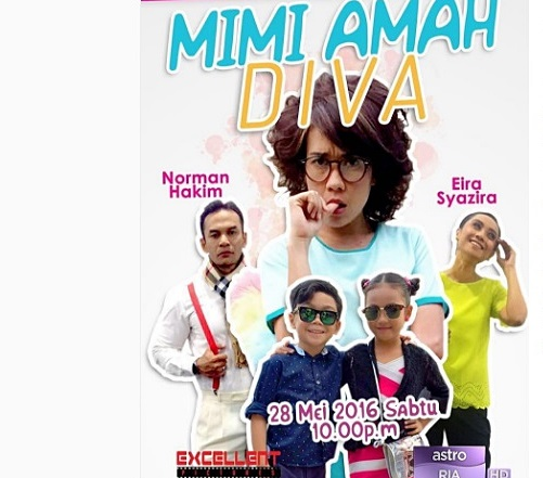 Sinopsis telefilem Mimi Amah Diva siaran Astro, pelakon dan gambar telefilem Mimi Amah Diva