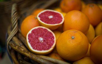 Wallpaper: Grapefruits