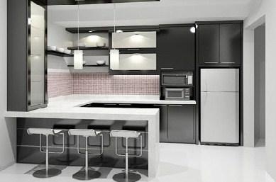desain dapur sederhana  murah