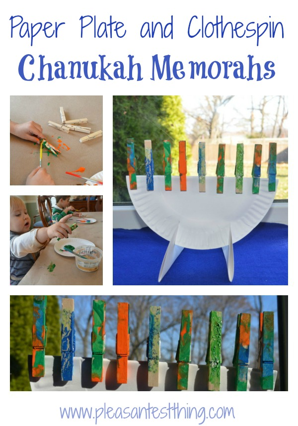 child hanukkah craft