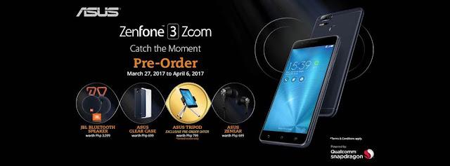 Asus Zenfone 3 Zoom Pre-Order Philippines