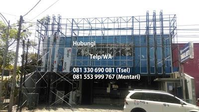 Jasa Pasang Aluminium Composite Panel per m2
