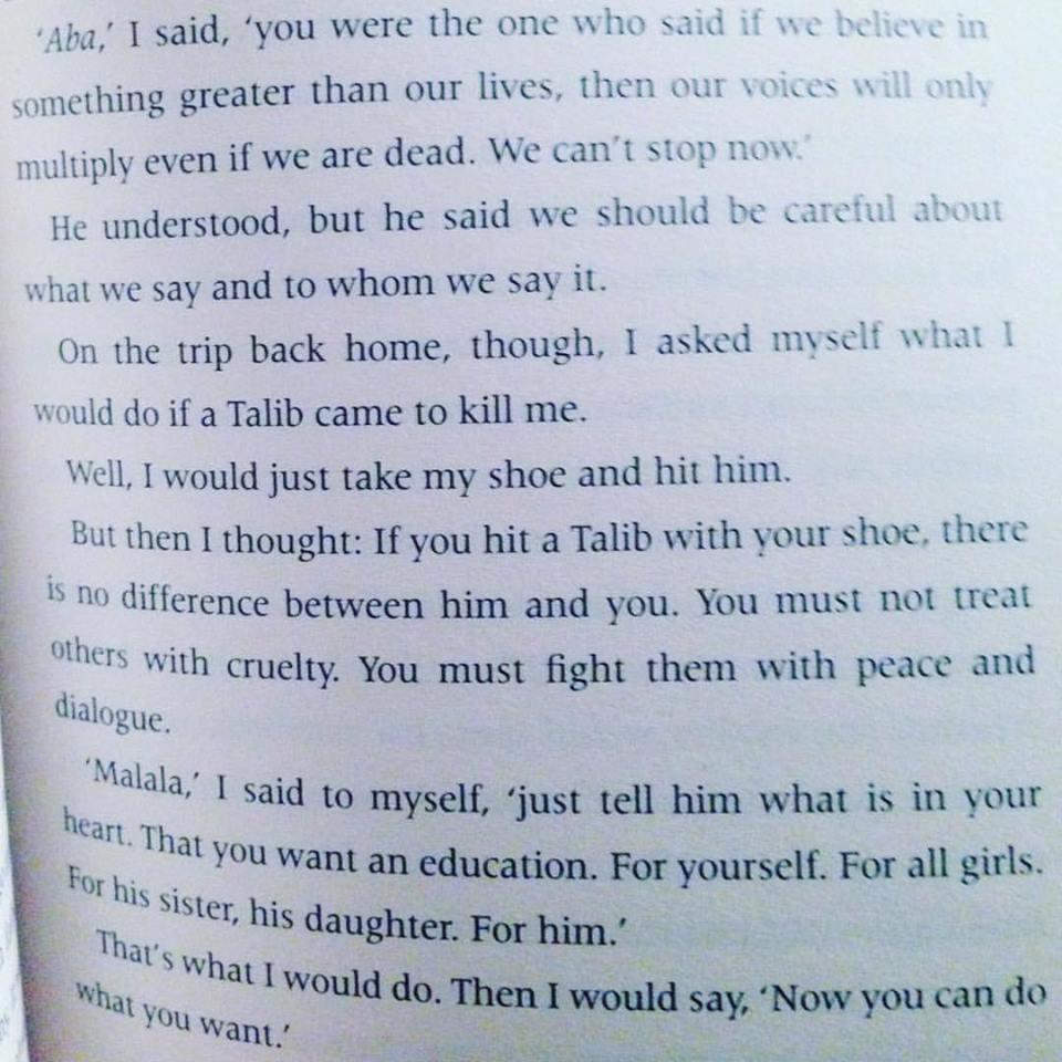 i am malala book quote