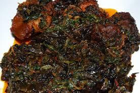 Image result for pot of Nigerian vegetable soup