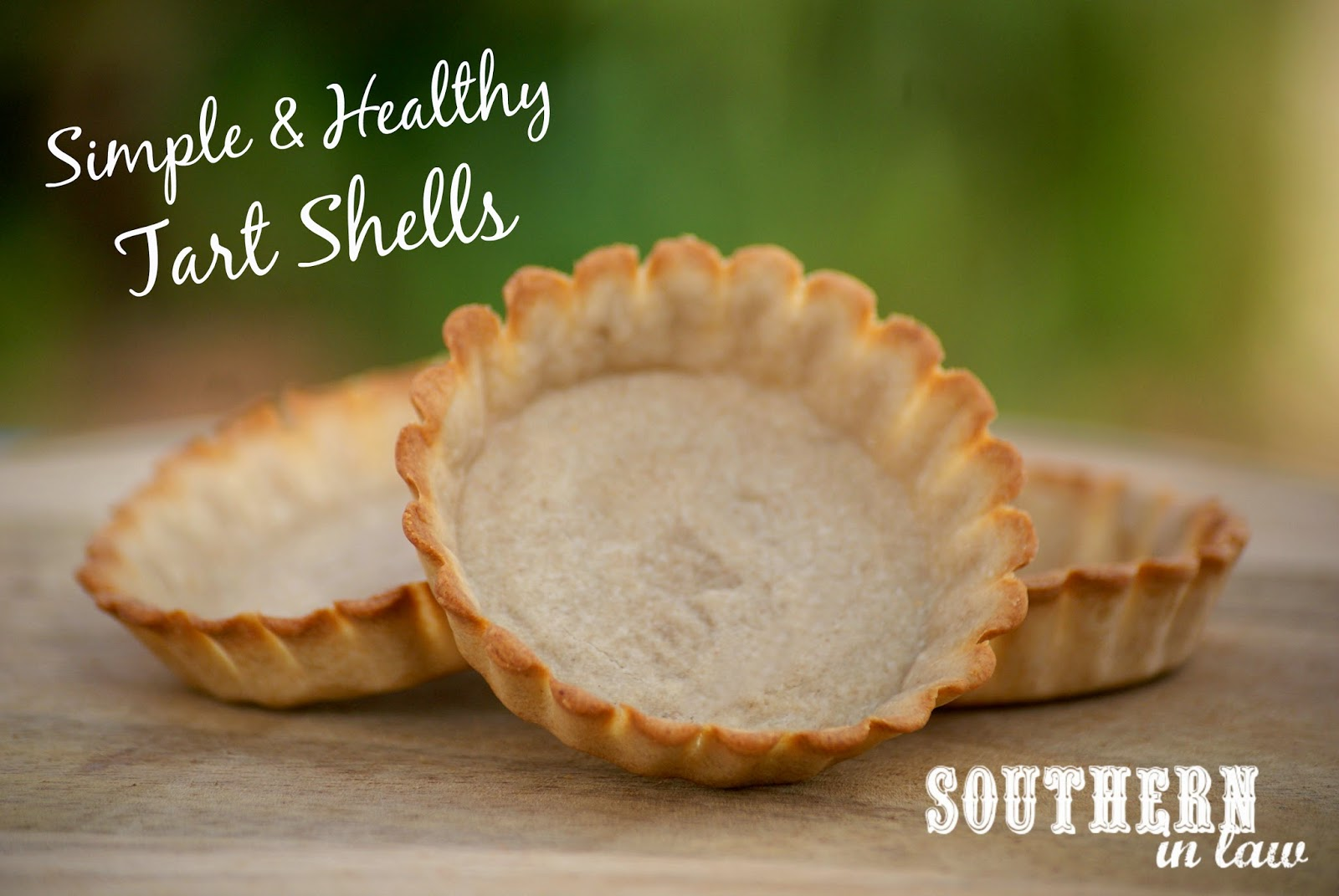 Easy to Make Healthy Pastry Recipe - Tart Shells - Low Fat, Gluten Free, Healthy, Vegan, Egg Free, Dairy Free