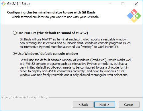 Pemilihan Terminal Emulator