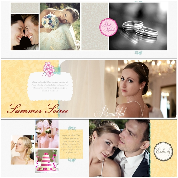 Summer Soiree Photobook Template