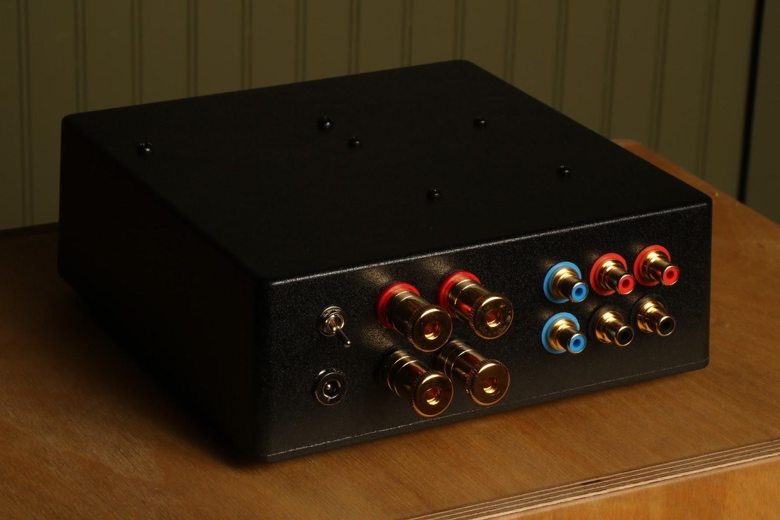Fleawatt Class D Amplifier Circuit Tpa3116d2 Tpa3118d2 Subwoofer Nichicon Fine Gold Power Supply Capacitors Remote Control Volume