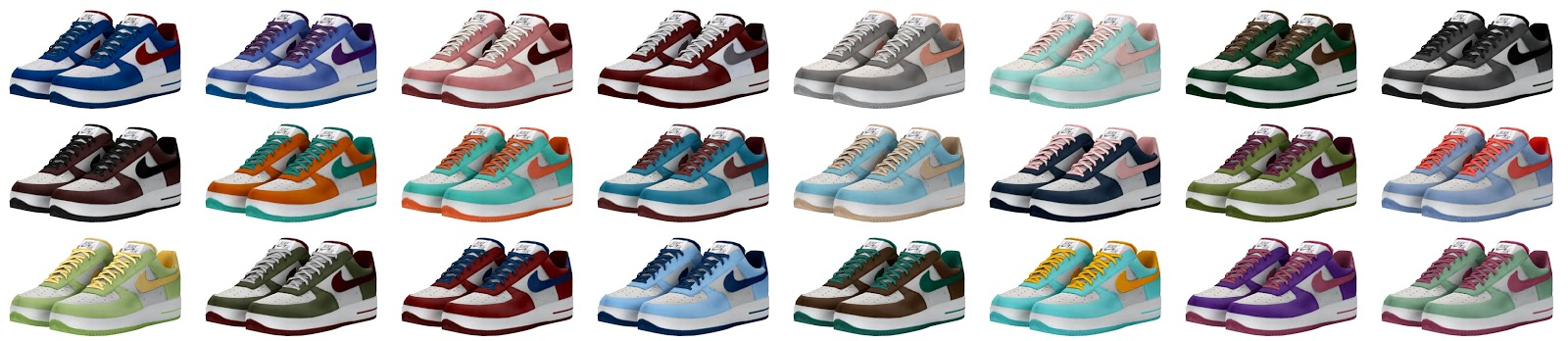 Sims 4 cc: Nike air force one for kids and toddlers