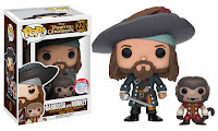Pop! Disney: Pirates of the Caribbean – Barbossa w/ Monkey.