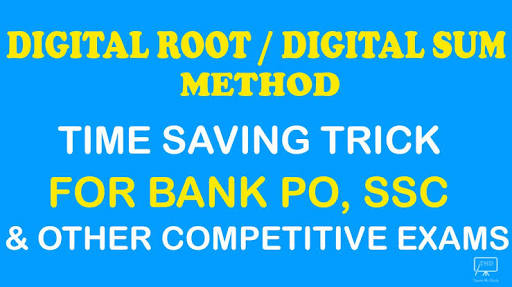 DIGITAL ROOT /  DIGITAL SUM METHOD NOTES