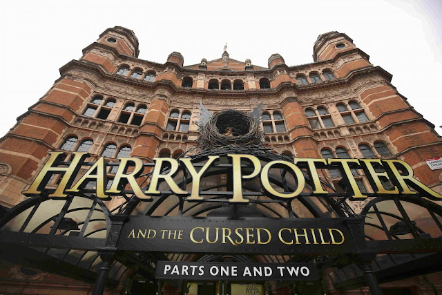 "Harry Potter and the Cursed Child (""Гаррі Поттер і прокляте дитя""),"