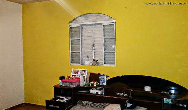pintura de amarelo frevo da coral do meu quarto