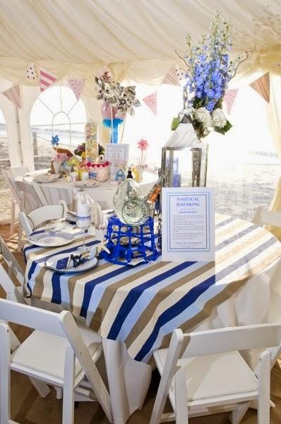 Nautical Table Decorations For Weddings Wedding Stuff Ideas