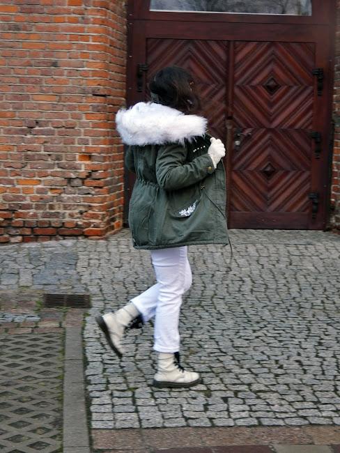 Kurtka/ jacket khaki & Dr Martens