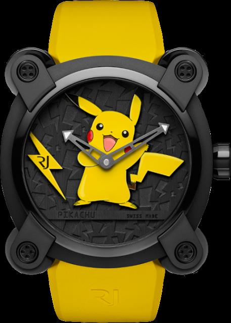 Se vende un reloj de Pokémon a 20.000 dólares