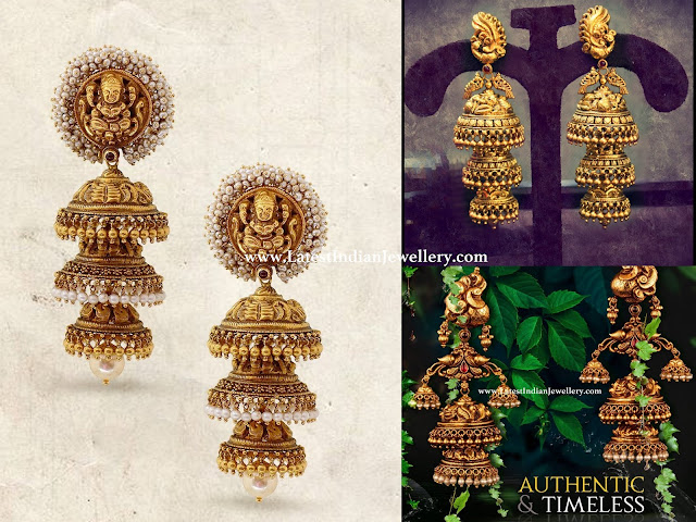 3 Step Jhumka Designs