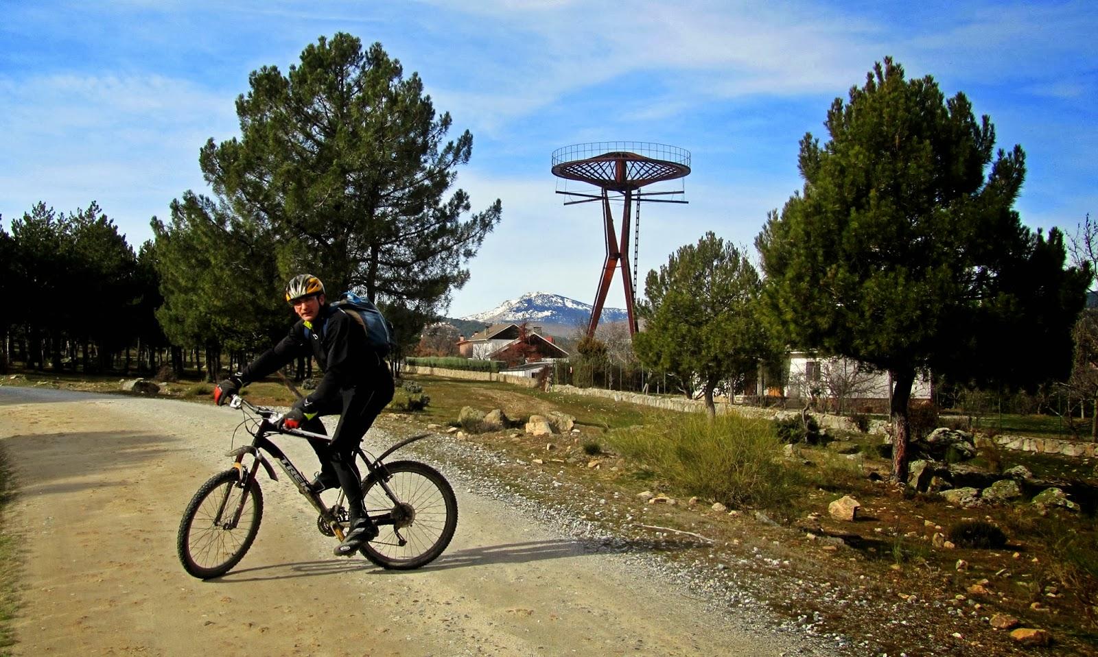 MTB en Hoyo Manzanares