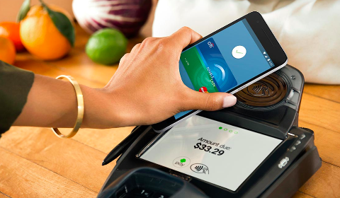 Paiement avec Android Pay