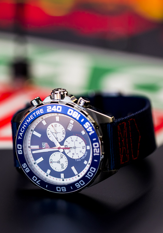 TAG Heuer Formula 1 e Red Bull Racing Team