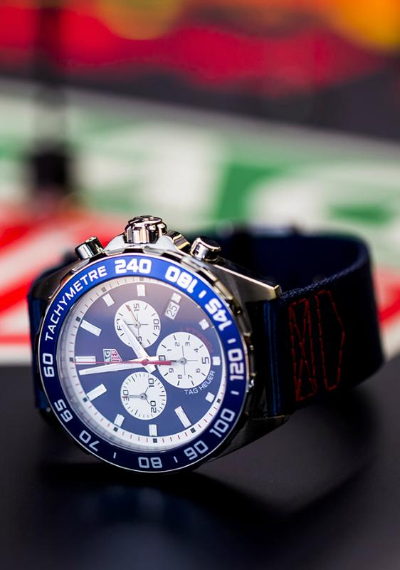 TAG Heuer Formula 1 e Red Bull Racing Team