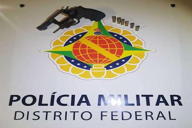 Trio é preso após atirar contra posto da PM em Ceilândia