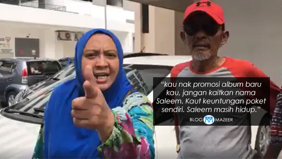 Isteri Saleem Mengamuk Beri Amaran Kepada Syarikat Rakaman Syafiq Farhain