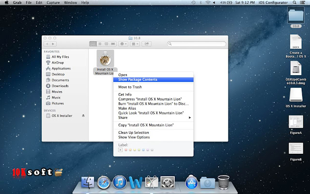 Niresh Mac OSX Mountain Lion 10.8.5 offline setup file free Download