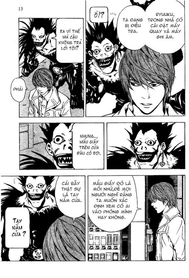 Death Note chapter 016 trang 14