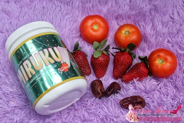 Cerah Tanpa Kolagen Dengan MIRUKU Susu Campuran Kurma Madu Dan Tomato