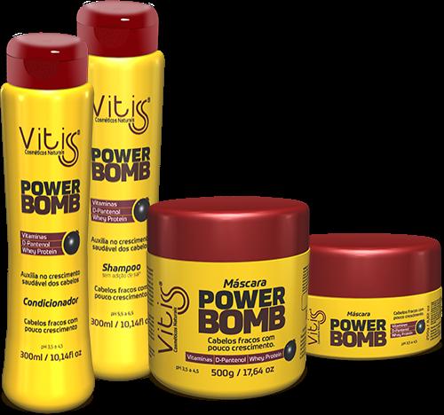 Novidade: Linha Power Bomb Vitss