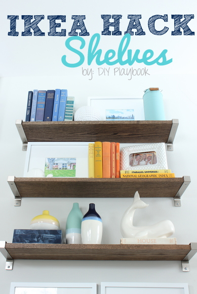 Ikea Hack Rustic Shelves Revisited Diy Playbook