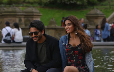Savyasachi movie working stills naga chaitanya nidhi agarwal