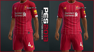 PES 2013 Liverpool 2019/2020 Home Kit Leaked