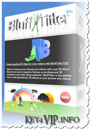 BluffTitleriTV 11.2.0.1 Full,Tạo hiệu ứng chữ động 3D thật dễ dàng,ghép vào các chương trình làm Phim,Video