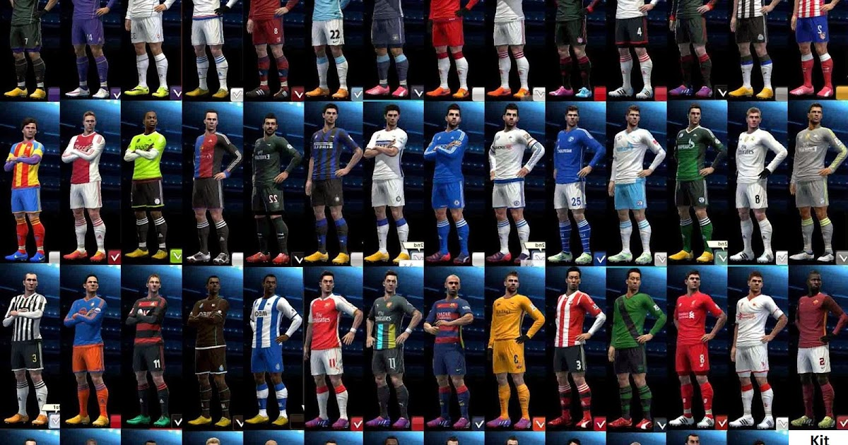 PES 2013 Option File Update National Teams to 04/05/2017