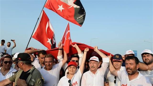Turkey's key opposition leader Kemal Kilicdaroglu appeals to European court against referendum results