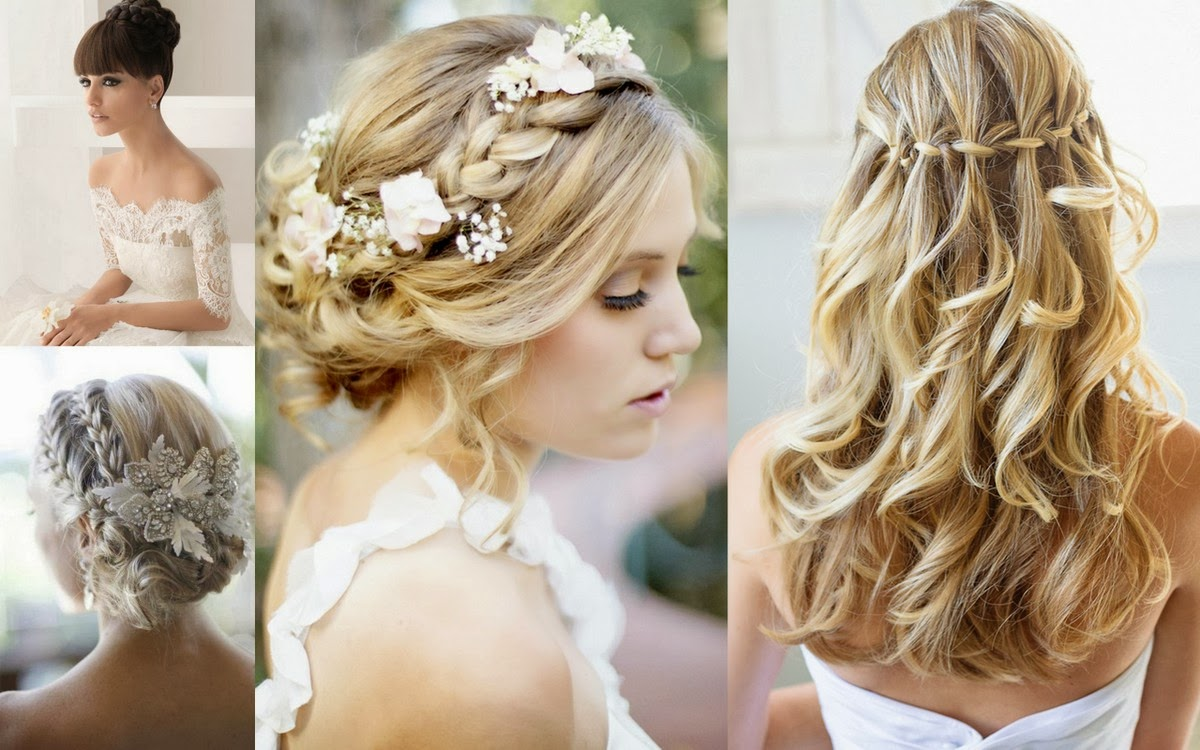 Dam Brinoword: Wedding Hairstyles 2014
