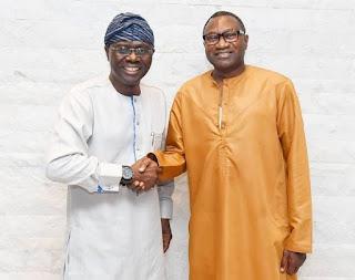 Otedola Backs Sanwo-Olu For Governor