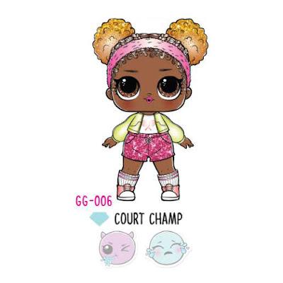 Как выглядит новая LOL Surprise Glam Glitter 2018 - чемпионка корта, спортсменка