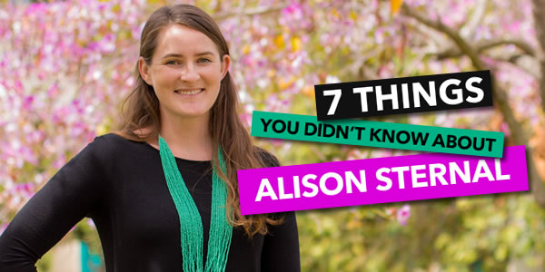 7 Things You Didn't Know About Alison Sternal