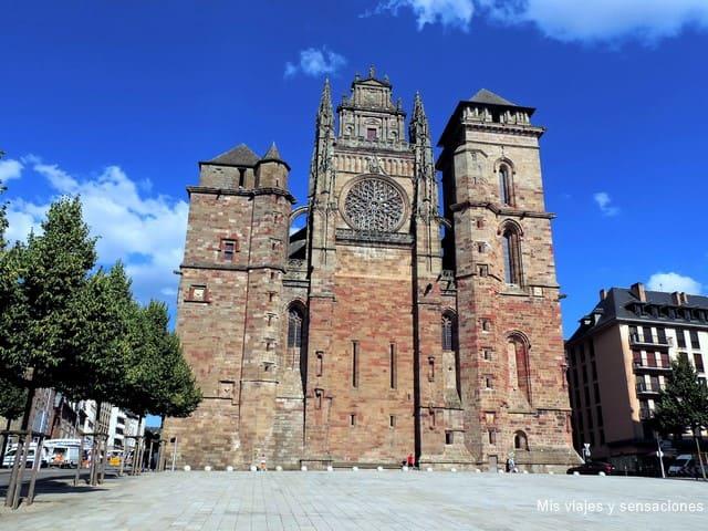 Catedral de Rodez, Francia
