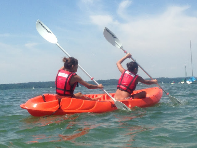 Teenager-Geburtstag Kanu und SUP am See