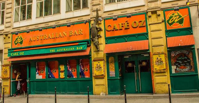 Cervejaria Café Oz em Les Halles em Paris