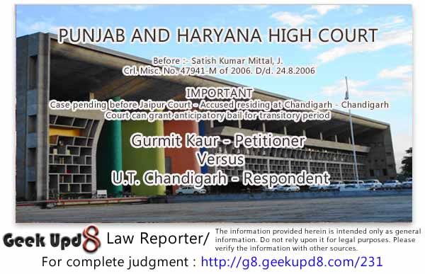 Punjab and Haryana High Court Chandigarh